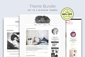 60% OFF - Blogger Theme Bundle