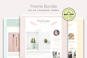 60% OFF - Blogger Theme Bundle
