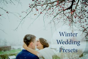 Winter Wedding presets Lightroom