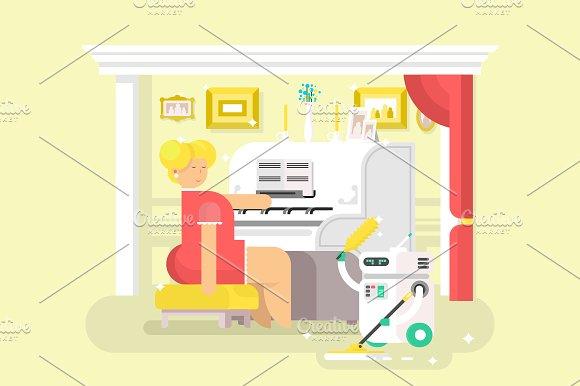 Housework Robot Assistant
