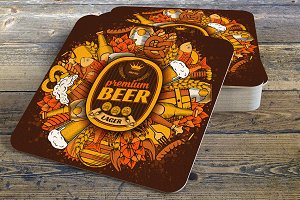 Coaster template
