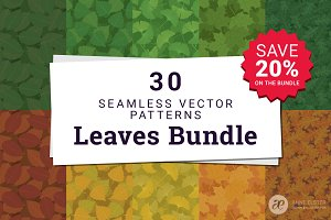 30 Leaves Pattern Collection