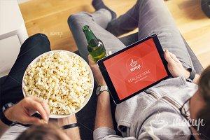 PSD Mockup iPad Air 2 Betting