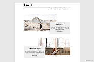 Luane - Minimalist WordPress Theme
