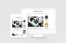Editorial & Modern WordPress Theme
