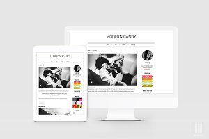 Editorial & Modern WordPress Theme