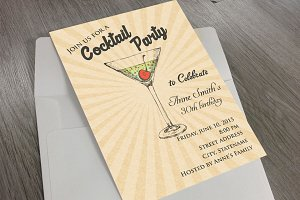 Invitation Coctail Party