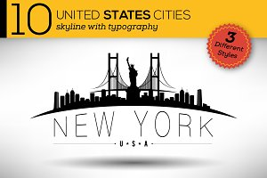 10 USA Cities Skylines