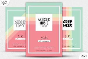 3in1 MODERN Flyer Template