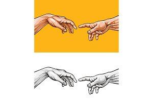 Adam hands