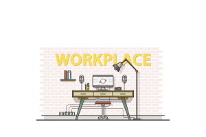 Workplace illustrations