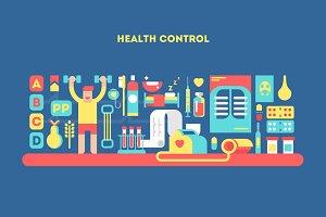 Health control design concept