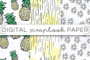 Pineapple Digital Paper