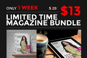 Save 90% - InDesign Magazine Bundle