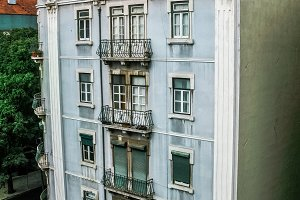 building in Lisbon city