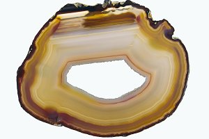 Layered agate