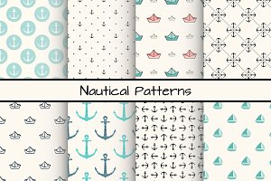 Set of 8 Nautical Patterns, part 2