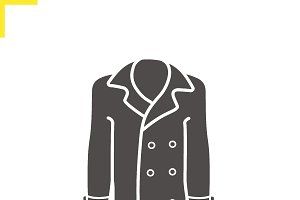 Coat icon. Vector