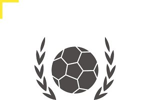 Soccer ball icon. Vector