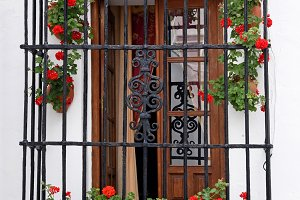 traditional Andalusian balcony