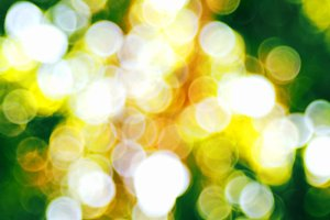 Natural green blurred