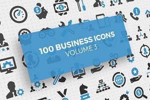 100 Business Icons Vol. 3