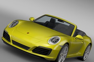 Porsche 911 Carrera S Cabriolet 991