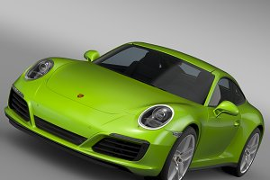 Porsche 911 Carrera S Coupe 991 2016