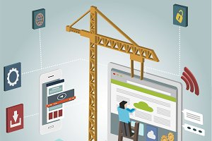 Isometric Web Development