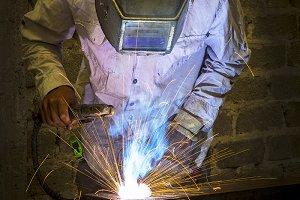 Welder in fabrications