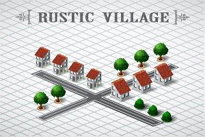 Rustic village