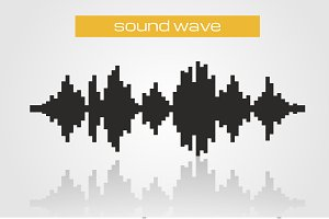 Halftone sound wave
