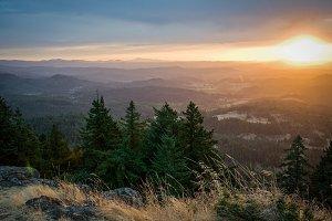 Eugene Sunset