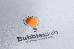 Bubbles Bulb Logo