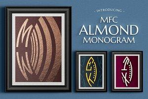 MFC Almond Monogram