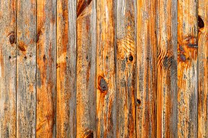 Wall of red wood texture