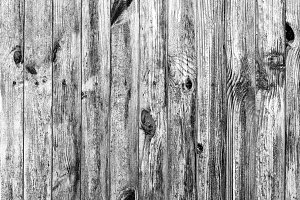 Wall of wood texture black and white