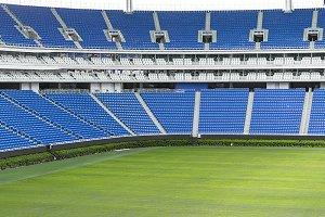 Large football stadium