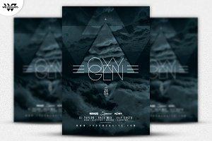 OXYGEN FUTURISTIC Flyer Template