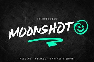 Moonshot Font Family (emojis too!)