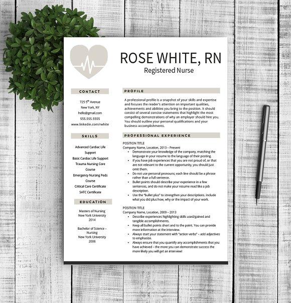 Resume & Cover Letter - Rose