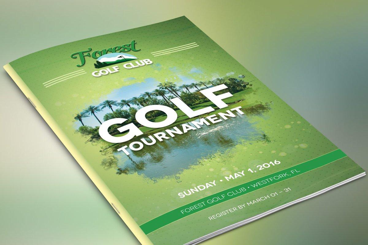 golf brochure template.html