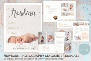 PG016 Newborn Photography Magazine