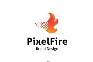 Pixel Fire Logo