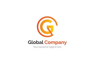 Global Company Letter G Logo