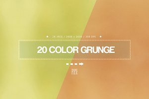 20 Color Grunge Texture