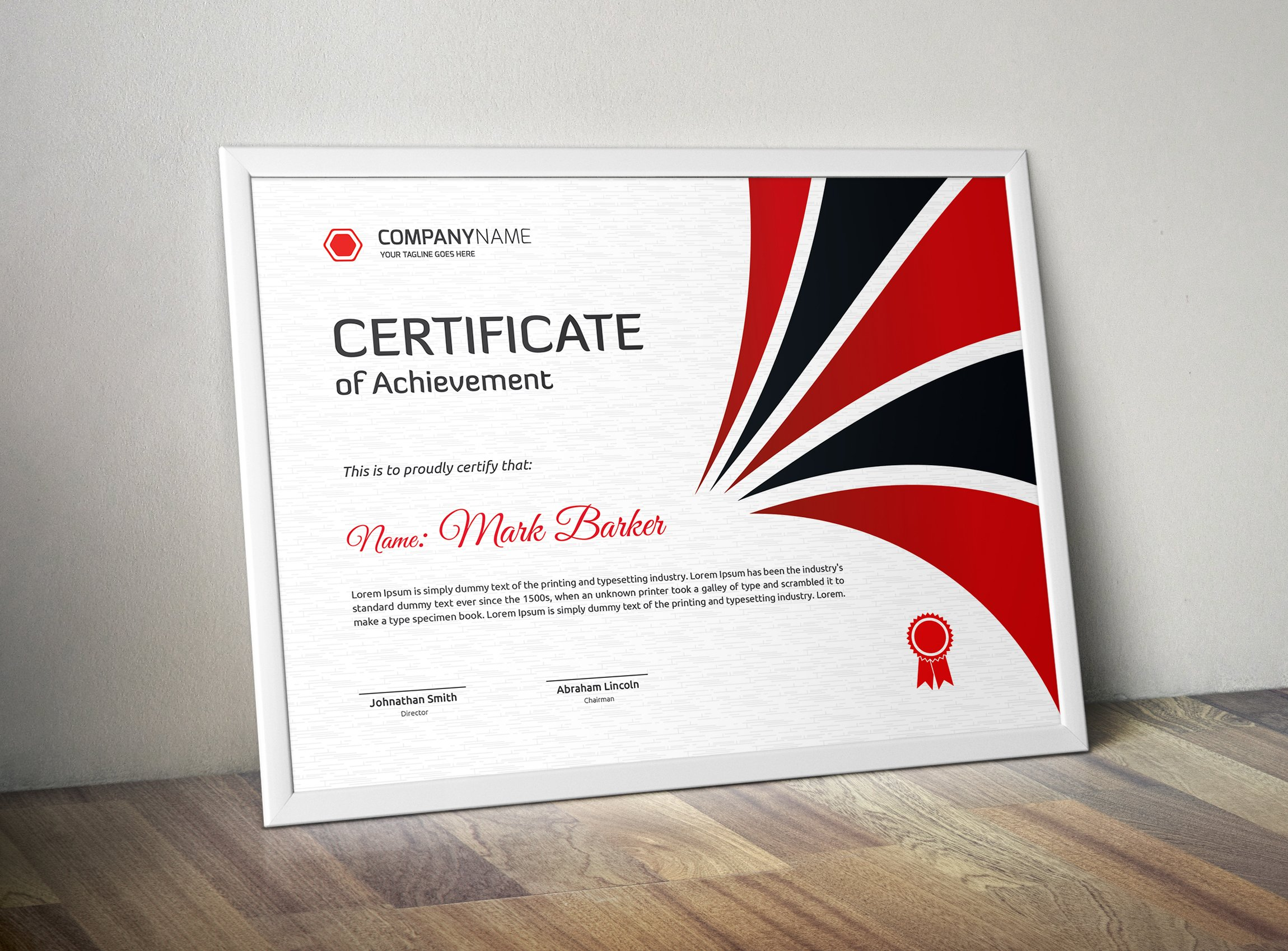 Certificate stationery templates creative market thecheapjerseys Gallery