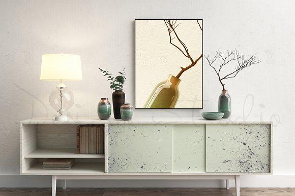 Styled Stock Photo, Frame mockup - Product Mockups
