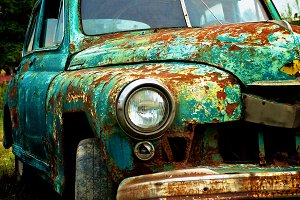 Pimped Rusty Car
