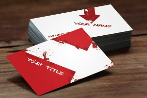 Grunge Business Cards
